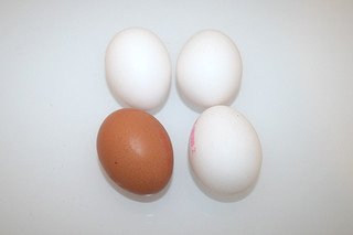 06 - Zutat Hühnerei / Ingredient eggs