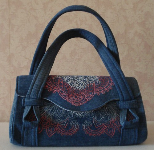 Mendhika designs on Amy Butler's Blossom Bag