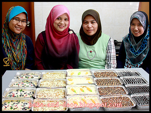 Baking & Deco Class: Mini Pack Cakes ~ 31 August 2012