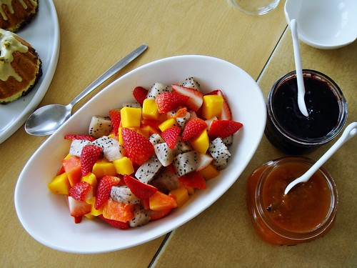 Tropical Fruit Salad & Homemade Preserves