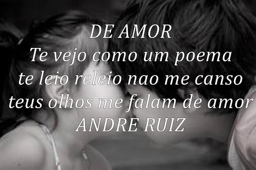 DE AMOR by amigos do poeta