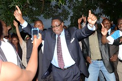 Leader of the former ruling Democratic Progressive Party (DPP), Peter Mutharika, was released on bail on Mar. 14 after being arrested with 11 other top Malawian government officials on charges of treason. Credit: Mabvuto Banda/IPS