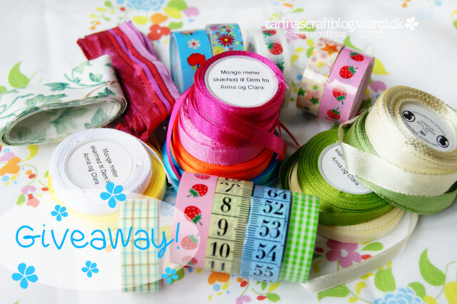 Ribbon and tape giveaway