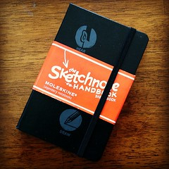 Custom Sketchnote Moleskine from @moleskine_world