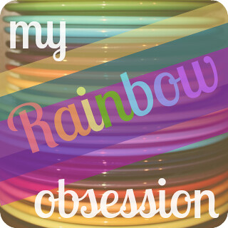 Rainbow Button - Photo Style