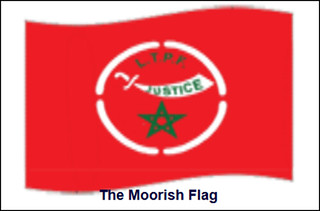 Moorish American flag (via Moorish American Government website)
