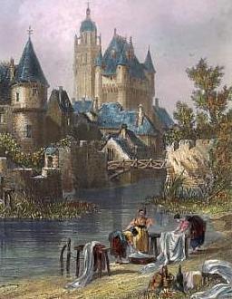 Cuadro de Loches (Valle del Loira, Francia)