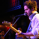 Live broadcast with Dawes on 3-25-13 from Rockwood Music Hall in New York City. Hosted by Rita Houston. Photo by Laura Fedele