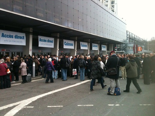 Salon du Livre de Paris 2013 : affluence