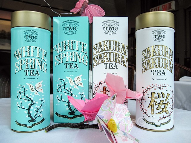 White Spring and Sakura! Sakura! teas