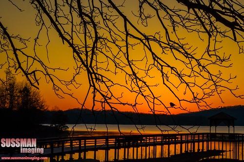 lake reflection nature water silhouette sunrise georgia pier dawsonville lakelanier dawsoncounty thesussman warhillpark sonyalphadslra550 sussmanimaging