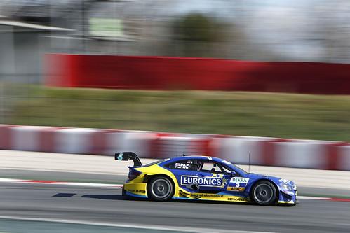 Gary Paffett Test DTM Circuit Catalunya 2013