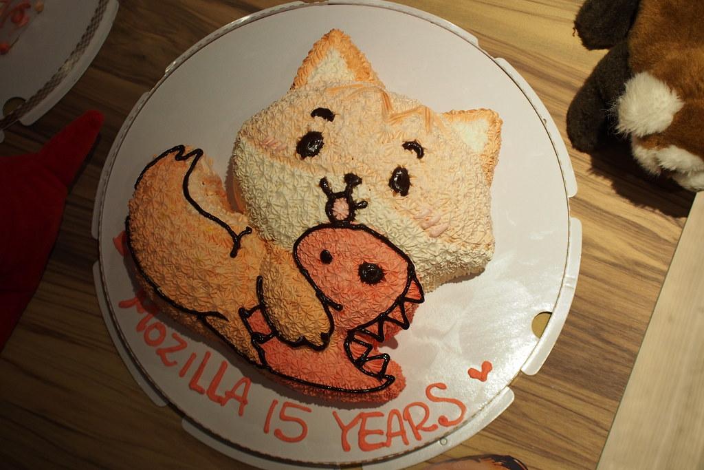 Mozilla 15週年小 Party