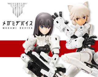 美少女 × 機械 壽屋「女神裝置」系列第二彈 「Soldier Snipe/Grapple」