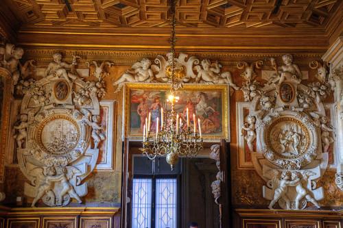 Wall Detail, Chateau Fontainebleu
