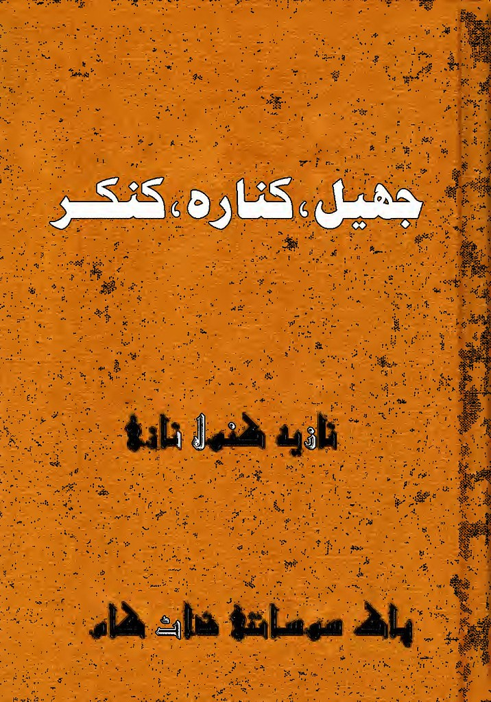 Jheel Kinara Kankar is a very well written complex script novel which depicts normal emotions and behaviour of human like love hate greed power and fear, writen by Nazia Kanwal Nazi , Nazia Kanwal Nazi is a very famous and popular specialy among female readers