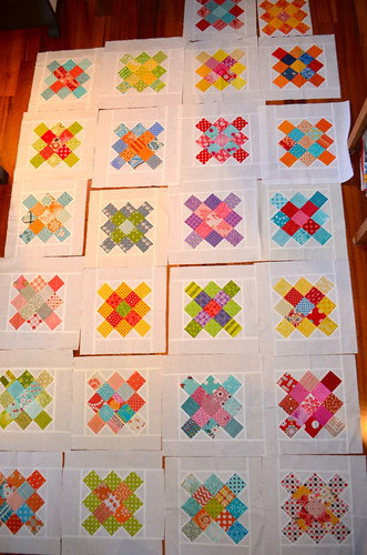 Modern Stitching Bee Blocks