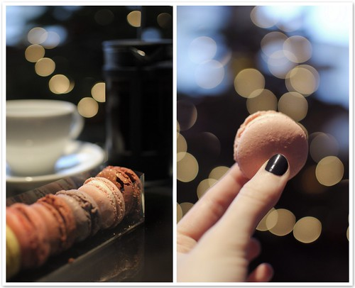 Macarons and farewell to the holidays