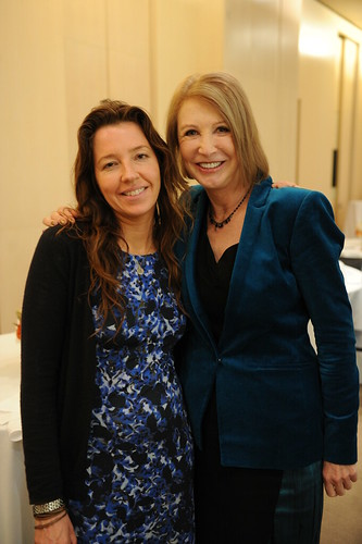 Jean Godfrey June and Jane Iredale at Lucky Bloggers Luncheon Dec 2012 PRO shot 03