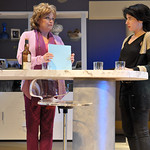 Karen MacDonald and Anne Gottlieb in a scene from SpeakEasy Stage's production of Other Desert Cities, running January 11 through February 9 at the Calderwood Pavilion at the Boston Center for the Arts. Tickets at speakeasystage.com or 617.933.8600. Photo by Craig Bailey/Perspective Photo