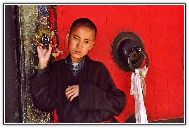 TIBET KAILASH 2003. I'll be a monk.