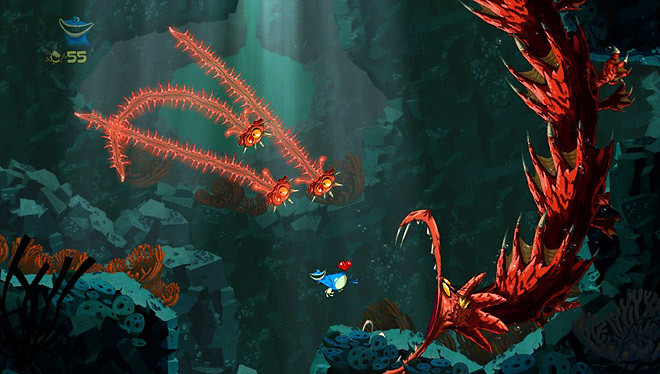 The final Rayman Origins levels are too heartbreakingly hard