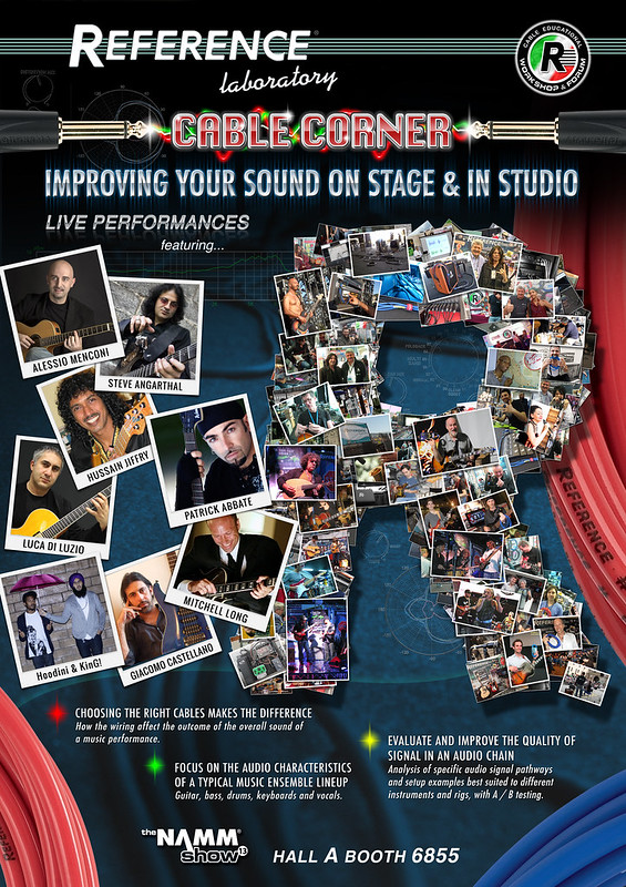 Reference Laboratory at the 2013 NAMM Show | Special Guests |Live performances & Educational workshop