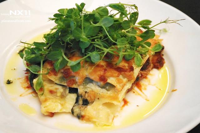cradle mountain lodge lasagne