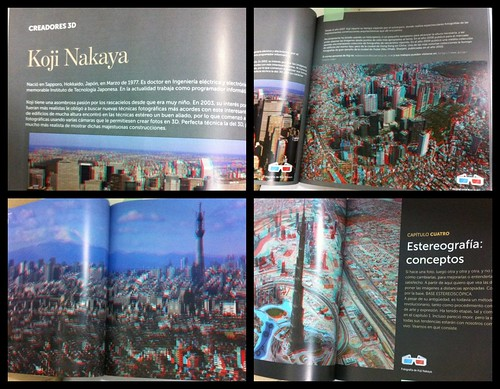 Fotografia 3D by Fructu Navarro スペイン語初の3D BOOK