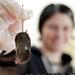 cats left rachel a dead mouse    MG 1774