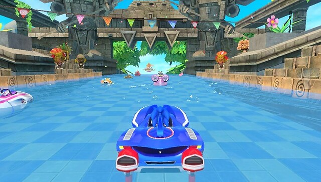 Test - Sonic & All-Stars Racing Transformed (PS Vita)