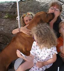 Kone og barn