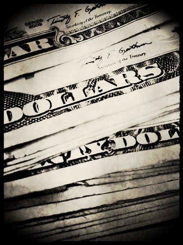 Dollars by Damian Gadal