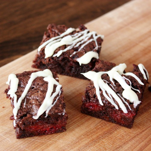 Chocolate Raspberry Brownies - Life at Cloverhill