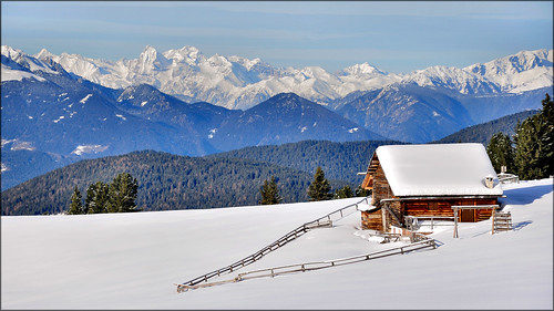Dolomiti - Val di Funes - white paradise by Luigi Alesi