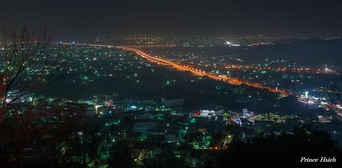taiwan 公老坪 豐原市 fengyuancity sonya850 sony2470za nightviewoffengyuancity