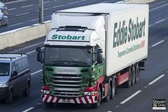 Scania R440 6x2 Tractor - PK11 BWL - Mazine Anne - Green & Red - Eddie Stobart - M1 J10 Luton - Steven Gray - IMG_1005