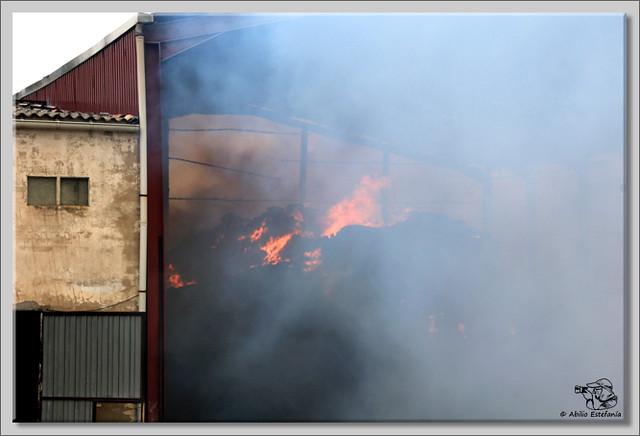 8 Fuego en Briviesca