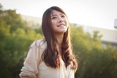 [フリー画像素材] 人物, 女性 - アジア, 笑顔・スマイル ID:201302042200