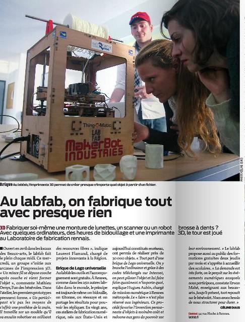 Article sur le Labfab Magazine Nousvousille