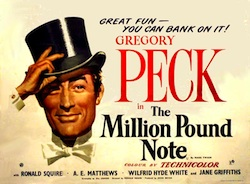 Million Pound Note Movie Poster