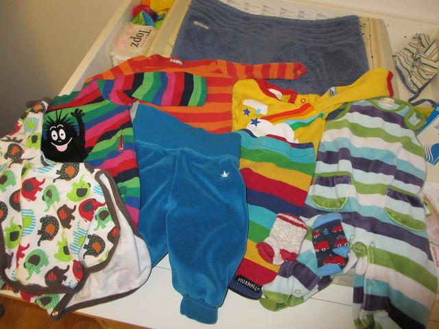 Axplock kläder till Sander, 3 månader
