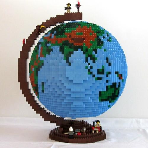 dirks LEGO globe � 04