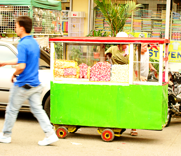Popcorn Wagon at Divisoria