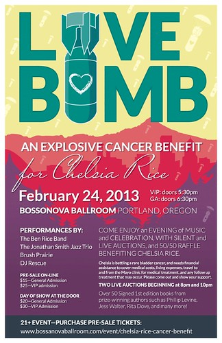 Love Bomb Cancer Benefit Chelsea Rice @ Bossanova Ballroom