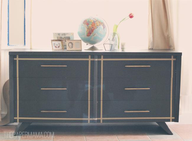Washi Tape Dresser