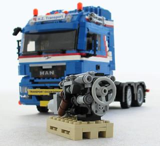 MAN TGX six-cylinder Diesel (1)