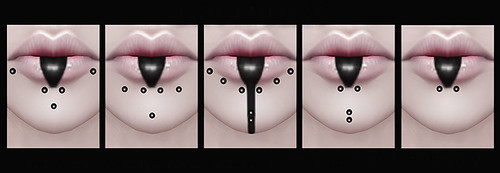 """Decay"" Piercing & Lip Tattoo Collection"