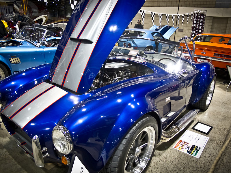 Picture of a Shelby AC Cobra