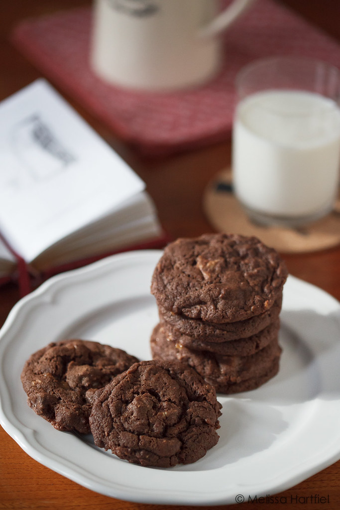 Chocolate Chunk Toffee Cookies | Eyes Bigger Than My Stomach